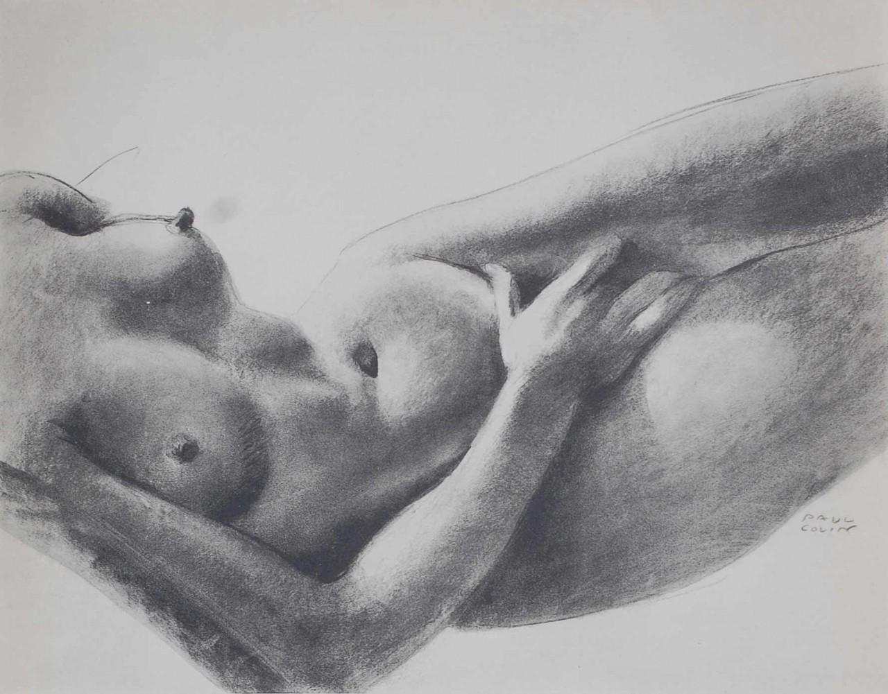 COLIN Alphonse femme nue