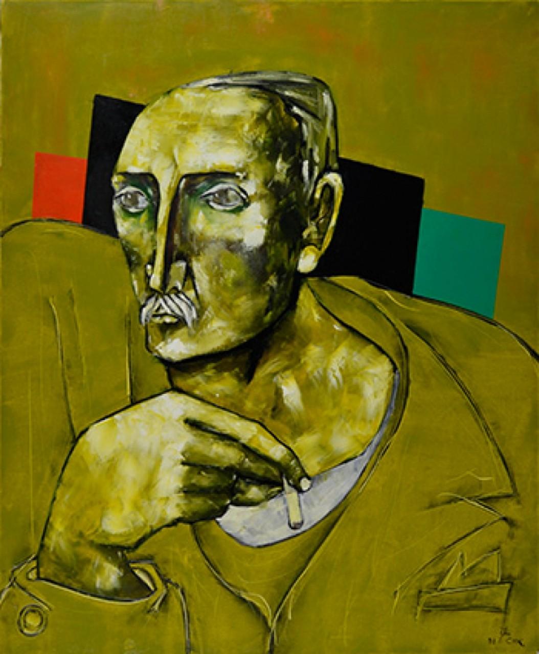 COOK Juan homme cigarette