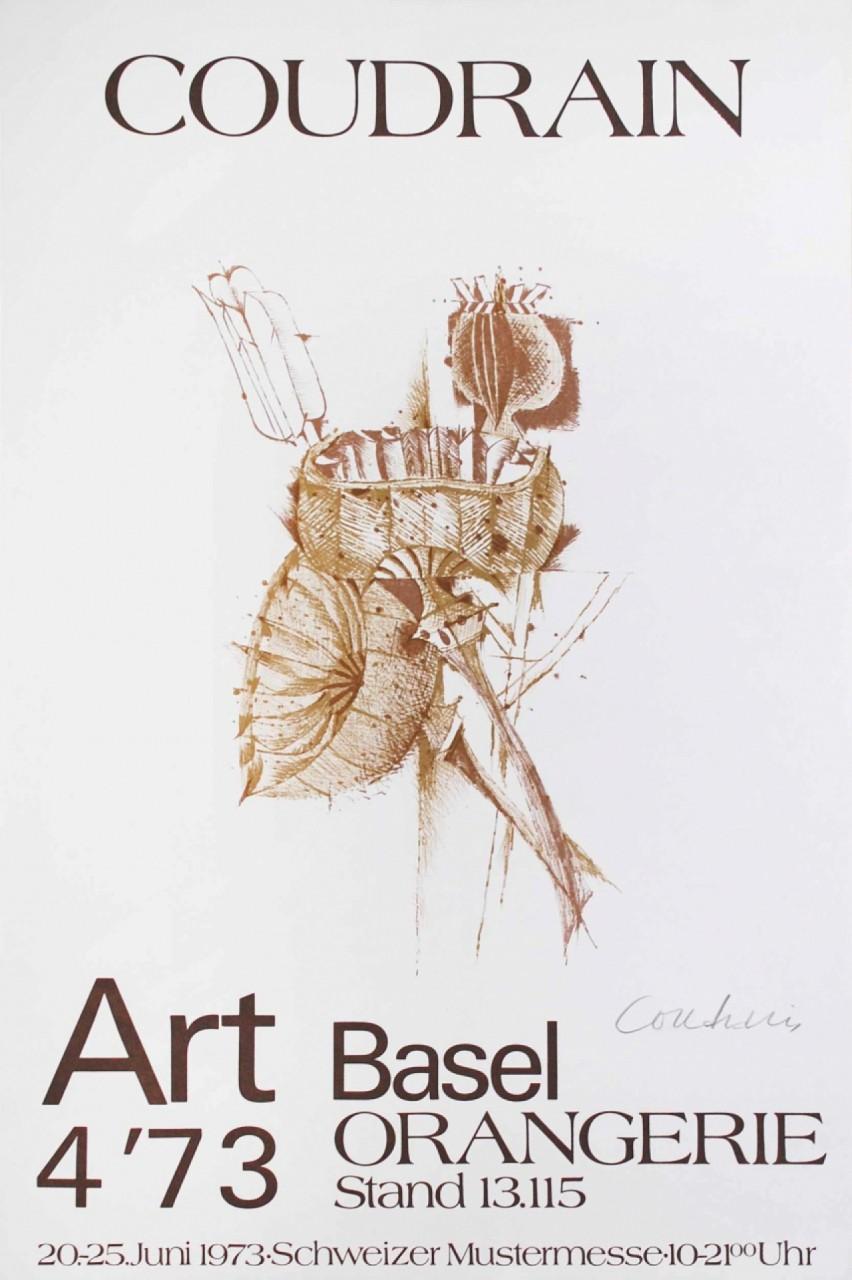 COUDRAIN Brigitte Art Basel orangerie