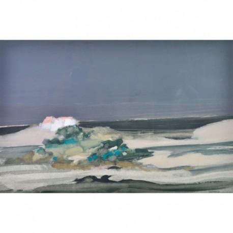 DEFOSSEZ Alfred île autour de la mer