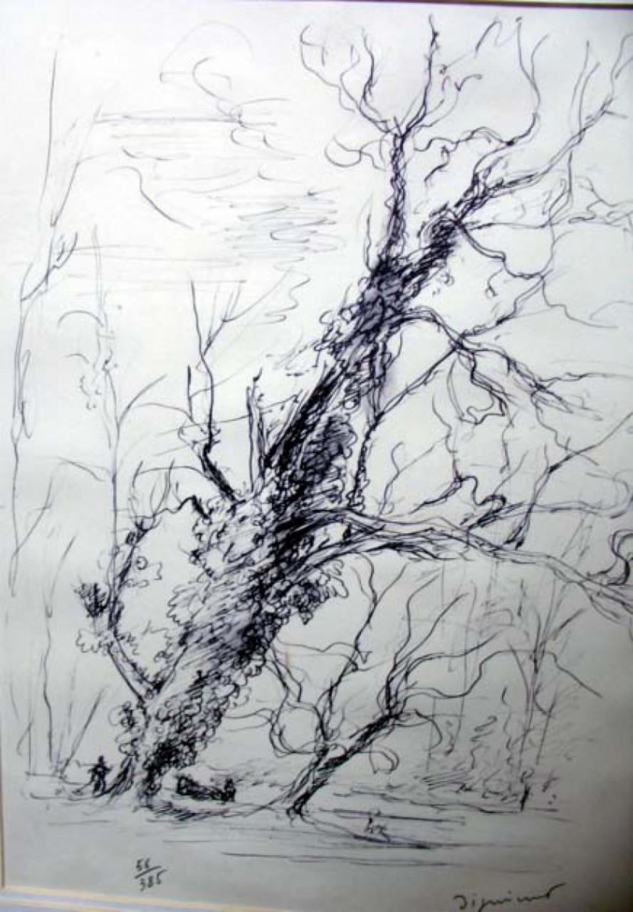 DIGNIMONT André forêt en automne