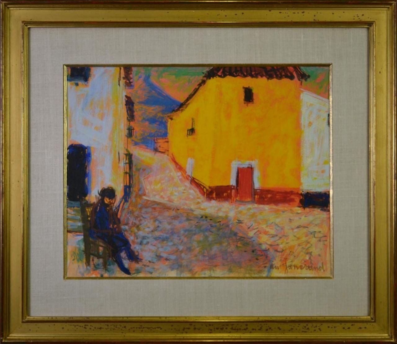 DU JANERAND Daniel personne à l'ombre du village