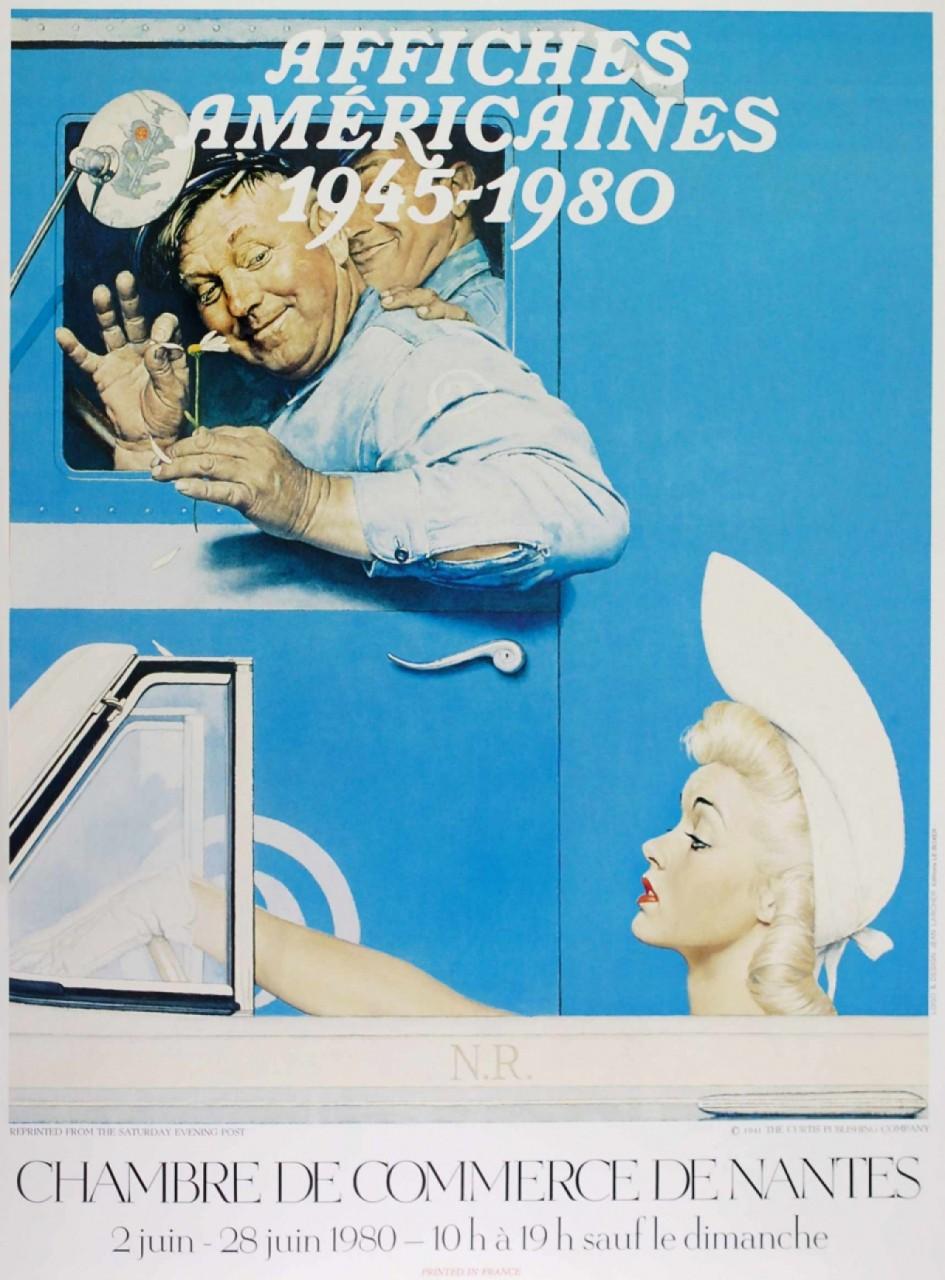 ECOLE MODERNE affiche chambre de commerce de Nantes