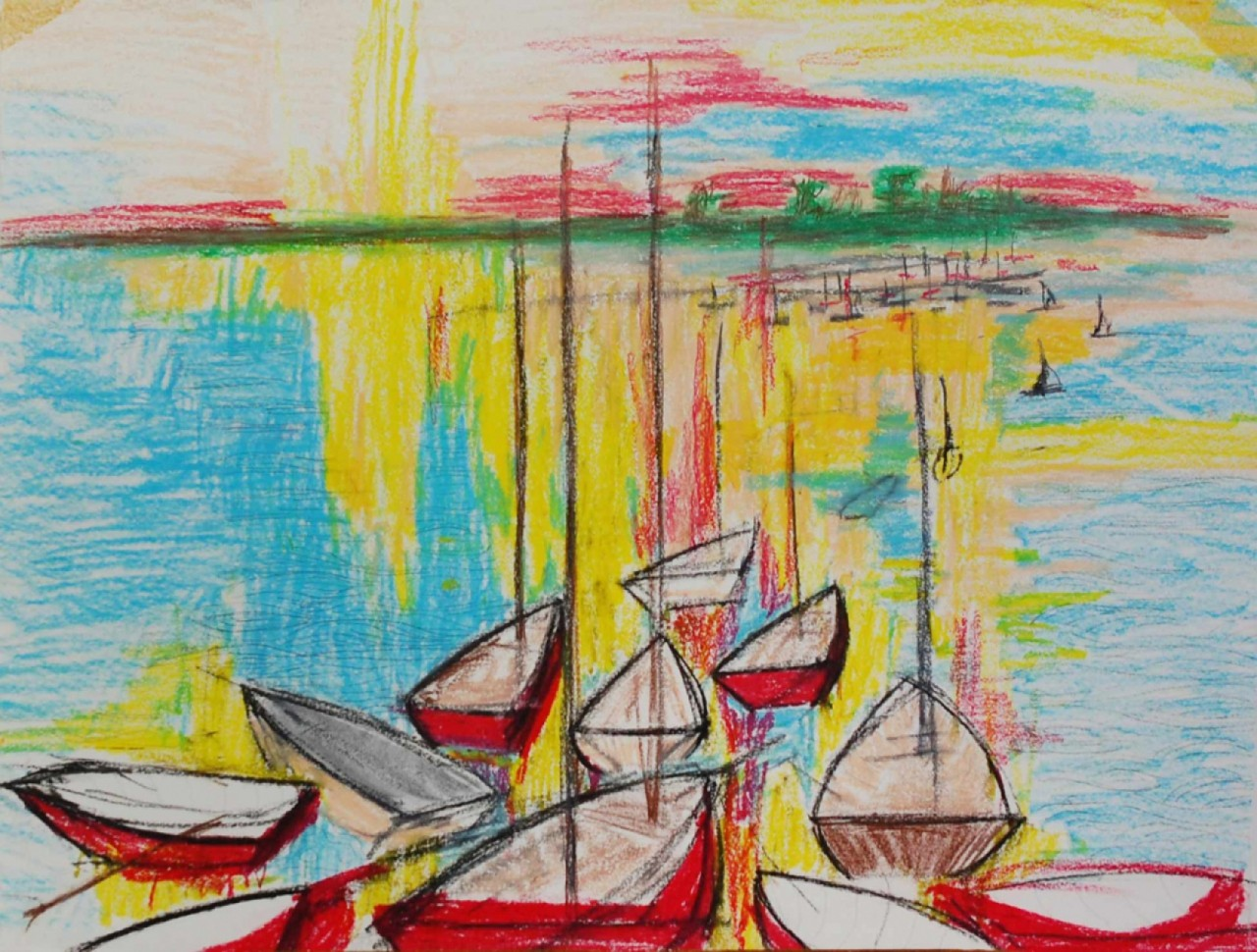 ECOLE MODERNE petits bateaux
