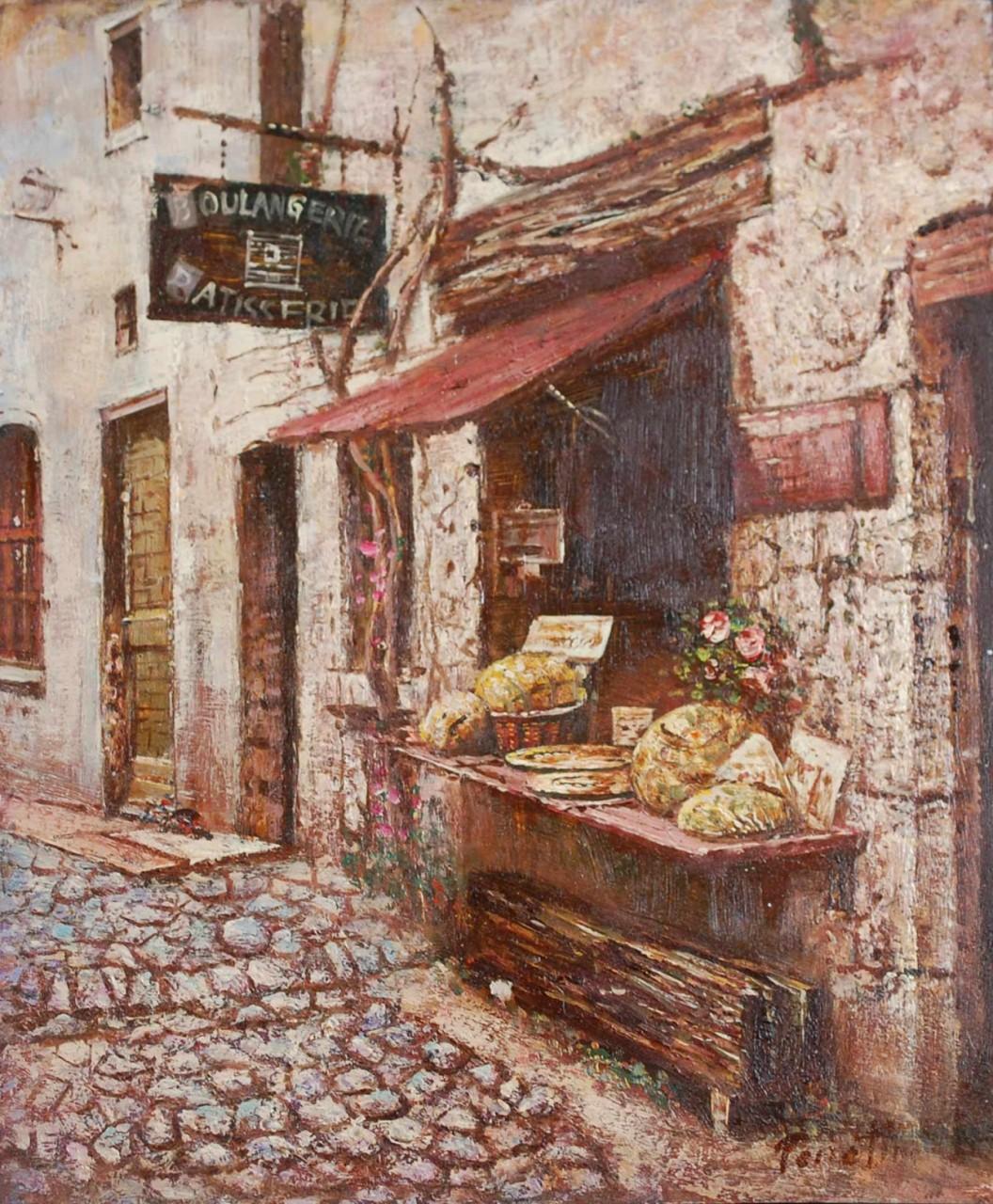 ECOLE MODERNE boulangerie petites rue