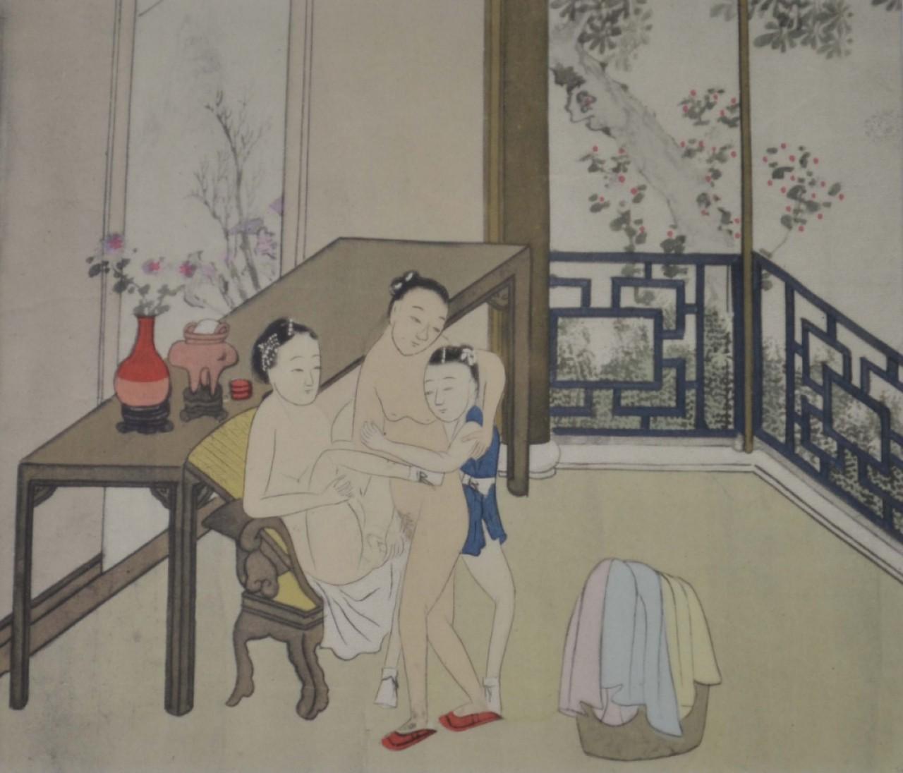 asiatiques dénudés
