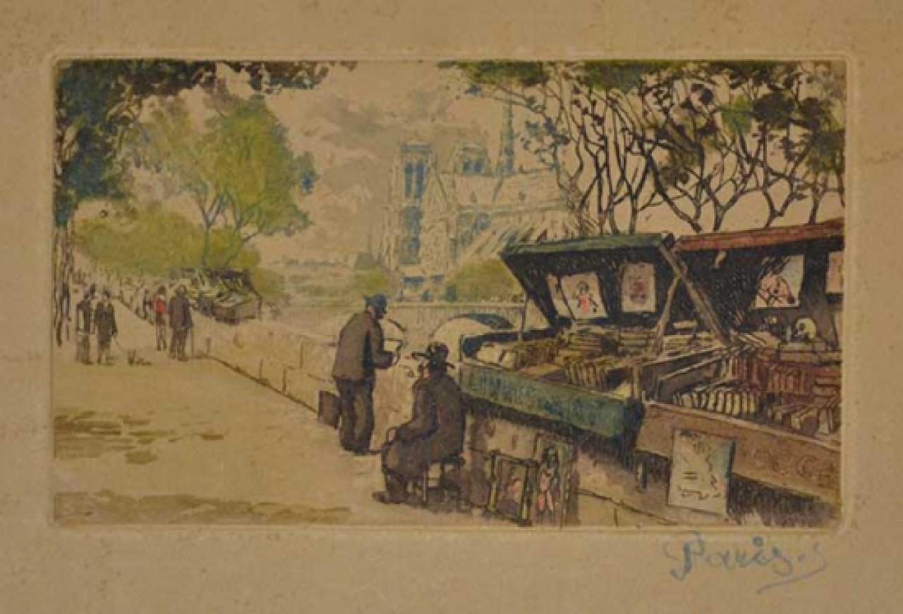 vendeurs de livre à Paris
