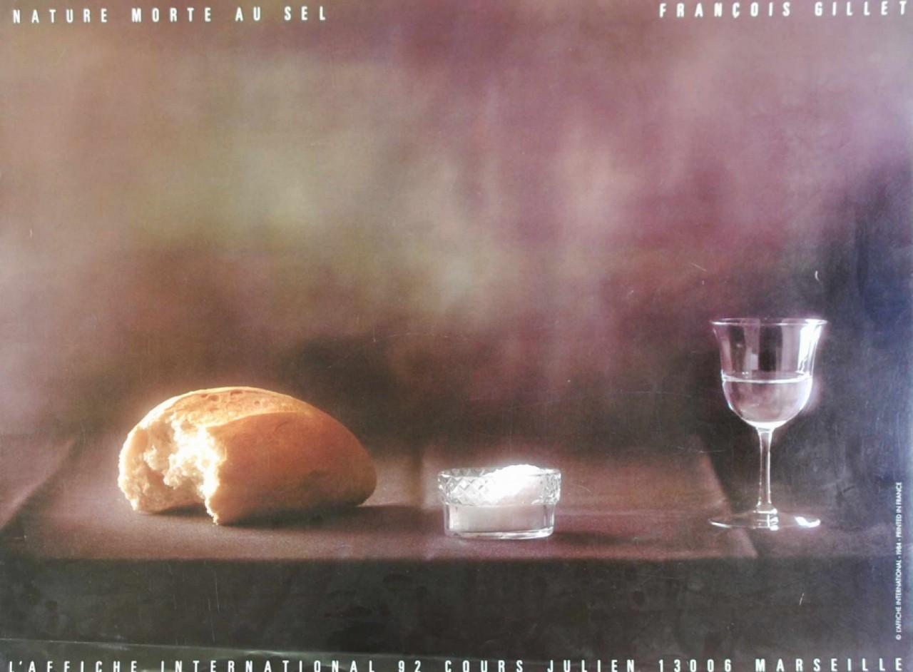 GILLET François pain sel et verre d'eau