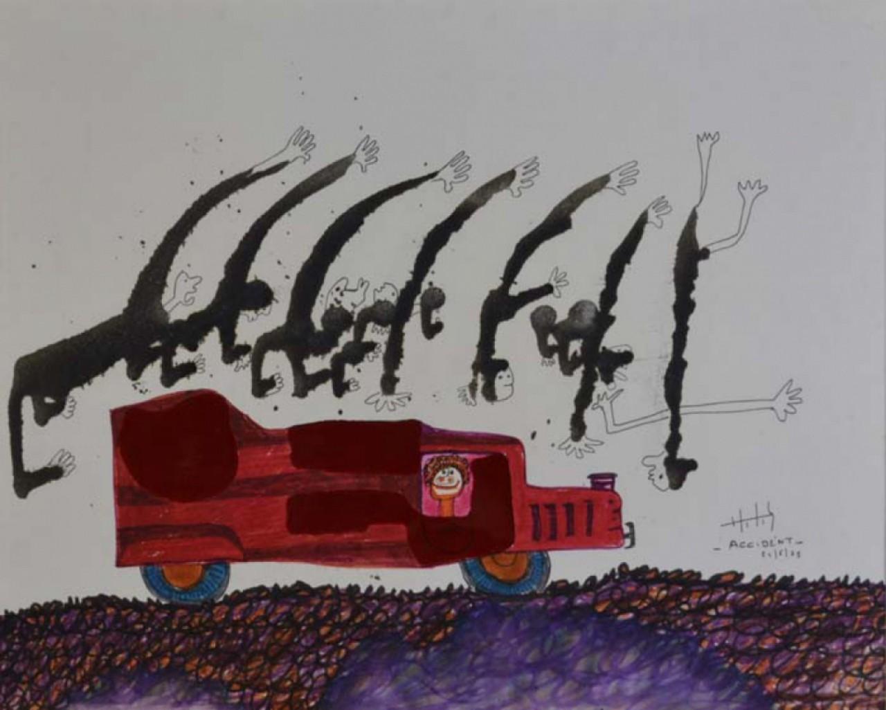 JUDIKAEL camion rouge