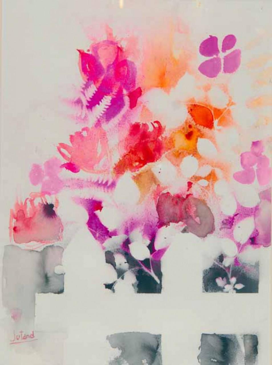 JURJANS Juris buisson de fleurs