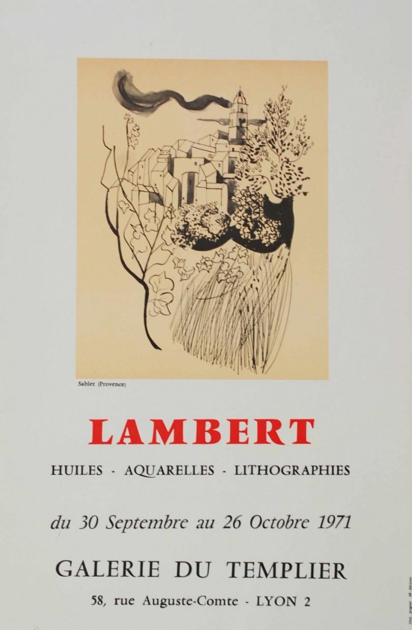 LAMBERT Georges Galerie du Templier