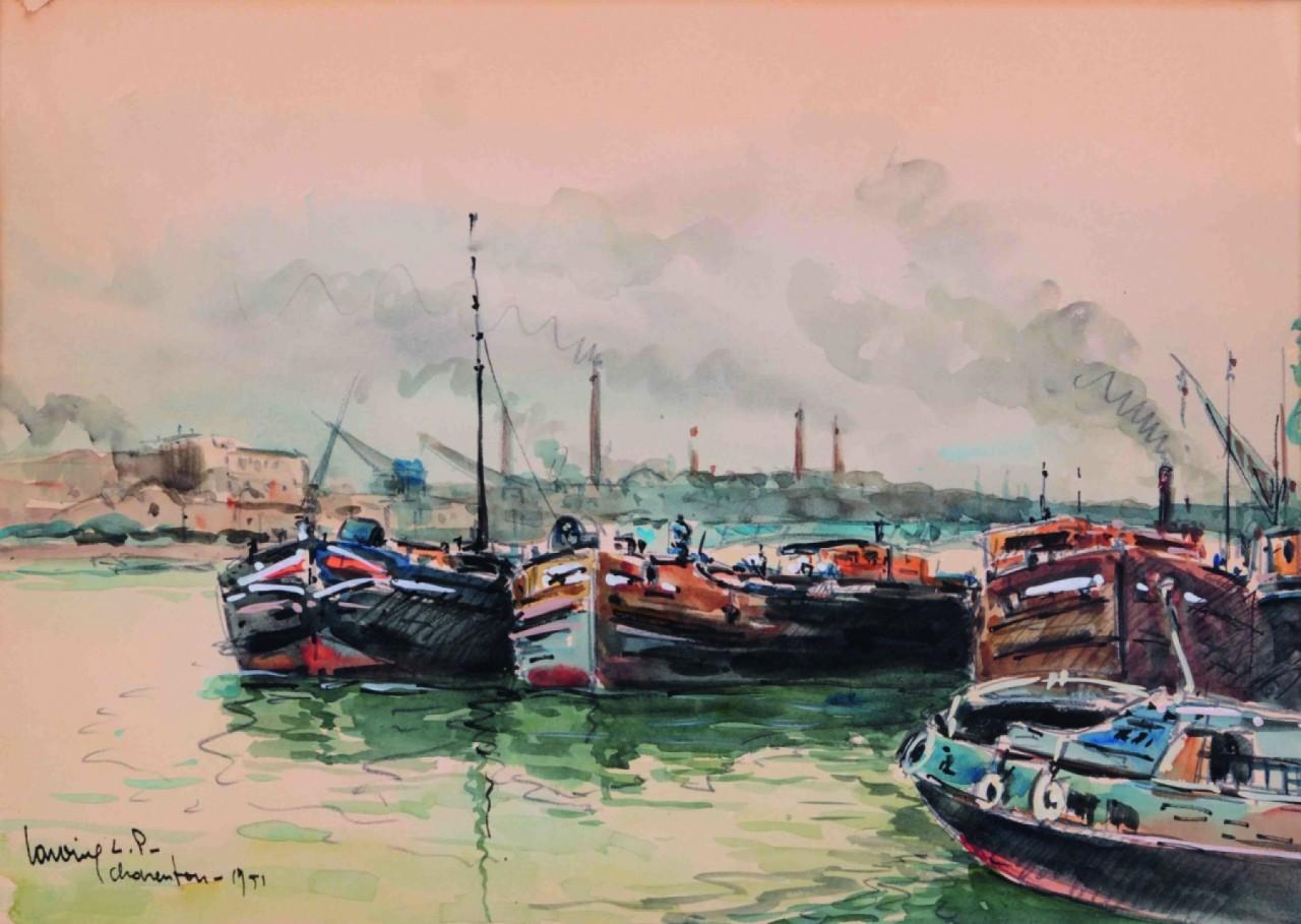 LAVOINE L.P. Robert paysage maritime