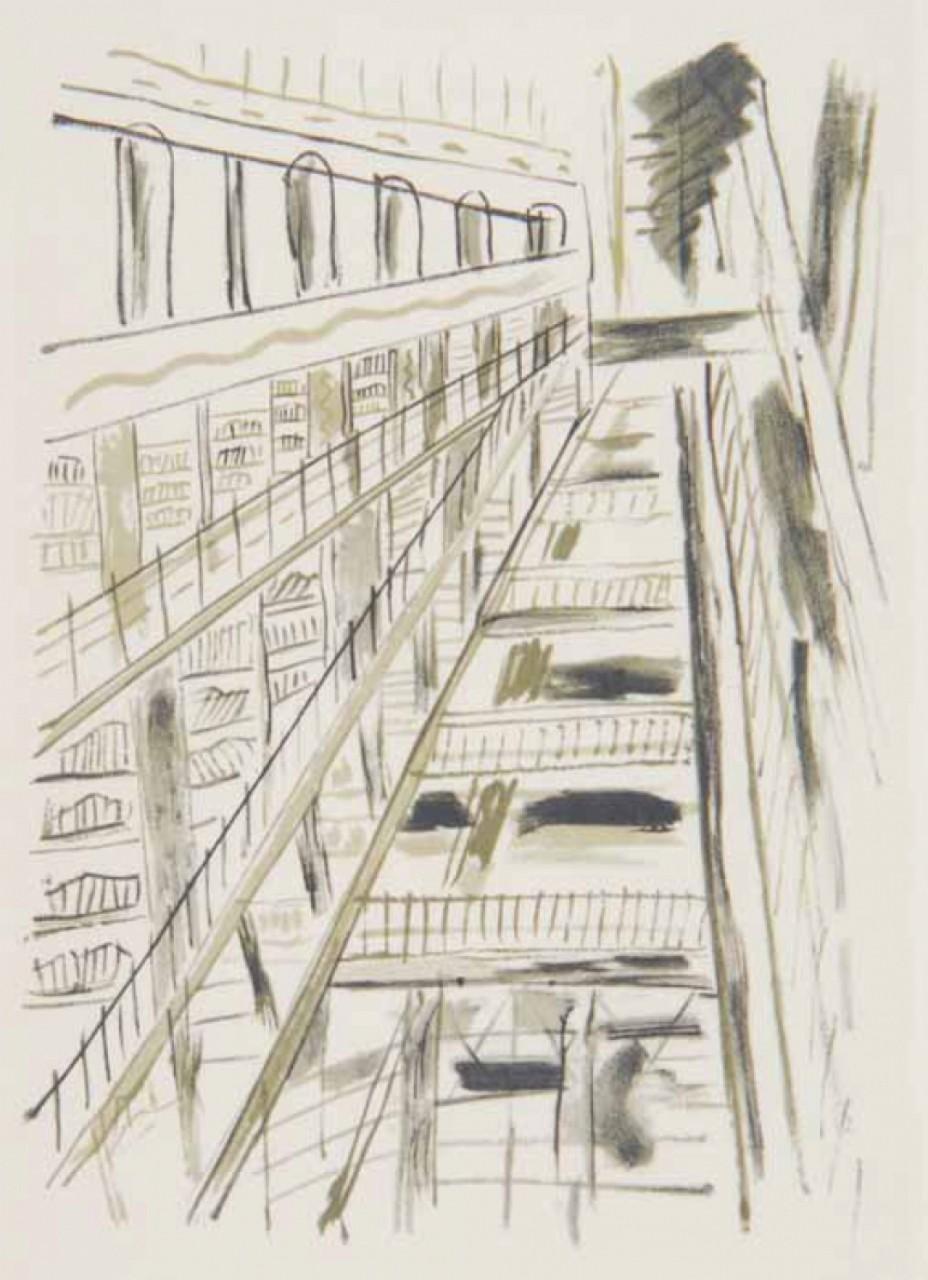 LEGER Fernand Paris les grands magasins
