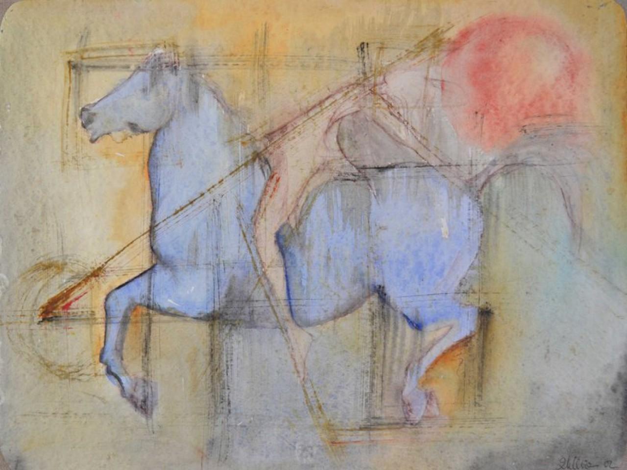 LENS Marie-Hélène cheval monté