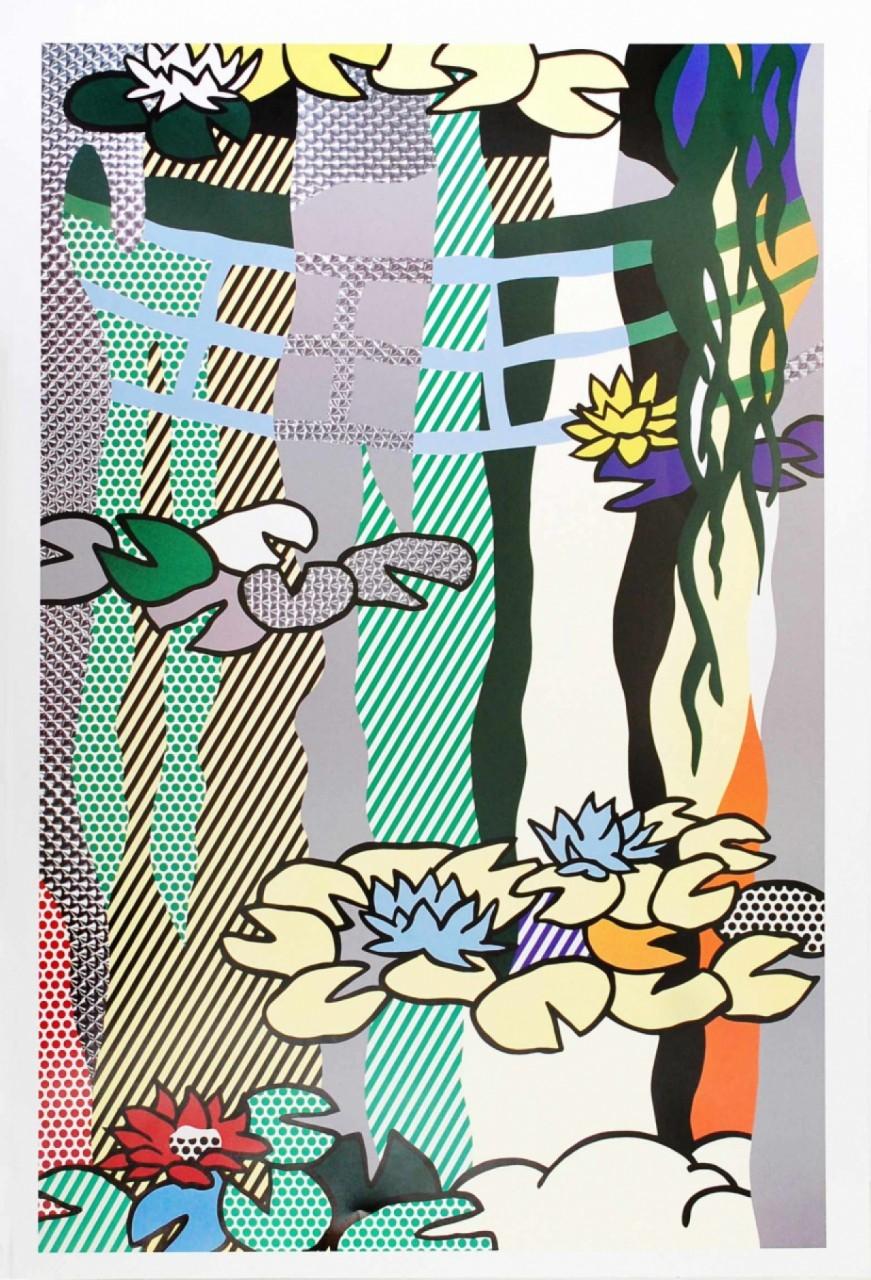LICHTENSTEIN Roy jardin japonais