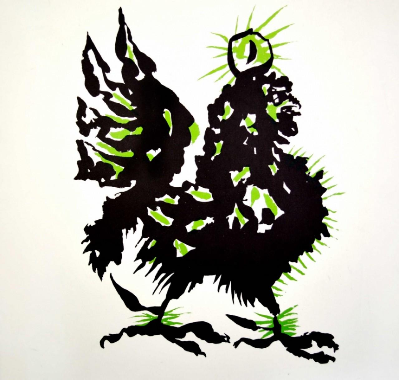 LURCAT Jean le coq vert