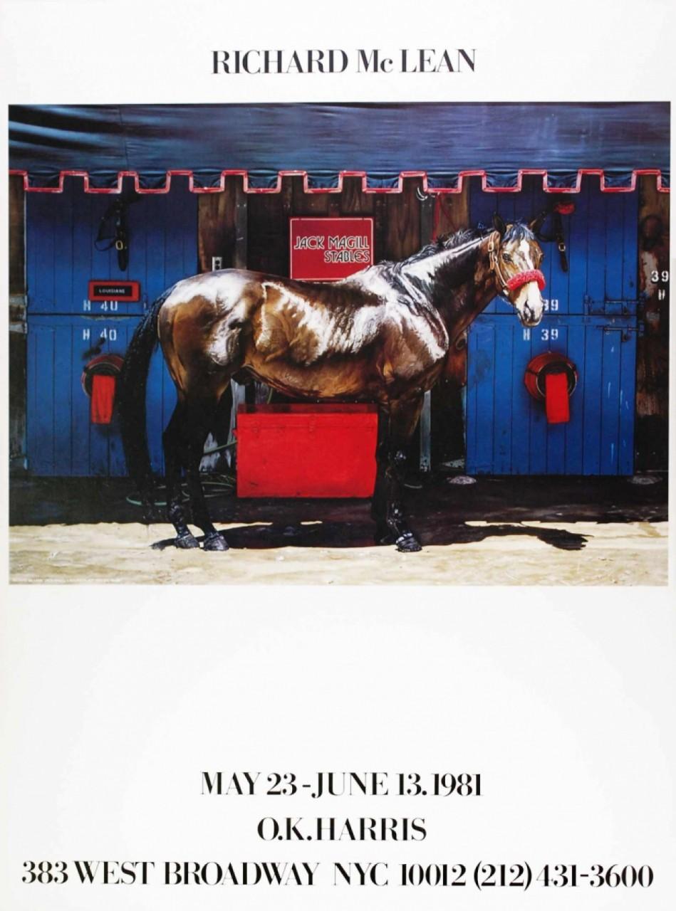 MAC LEAN Richard exposition cheval