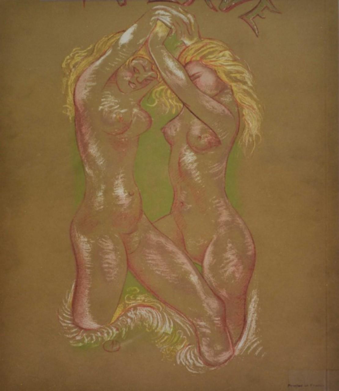 MAILLOL Aristide combat de nus blonds