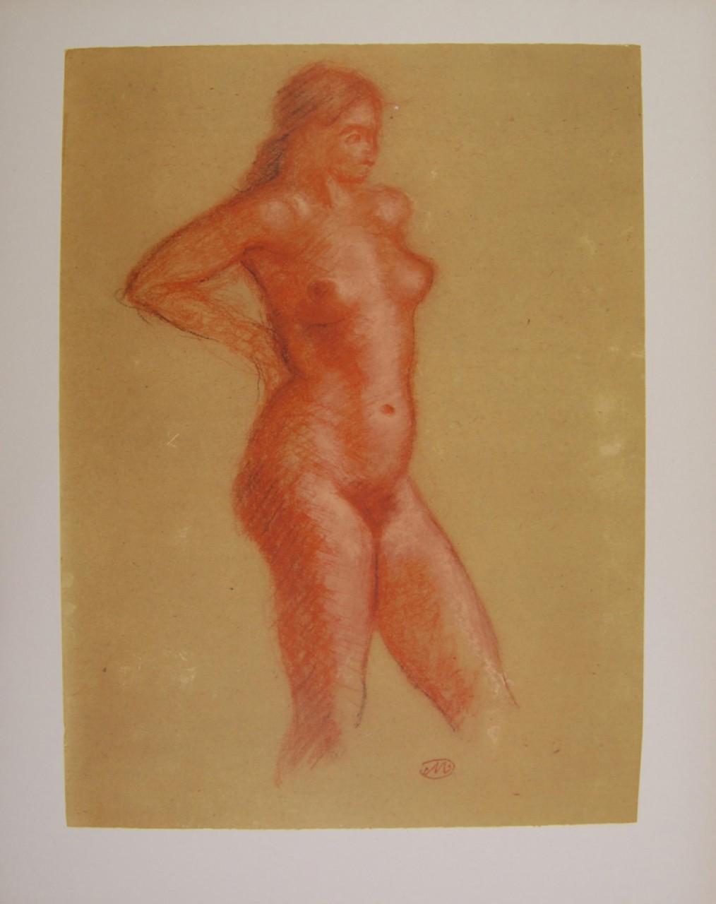 MAILLOL Aristide femme nue debout