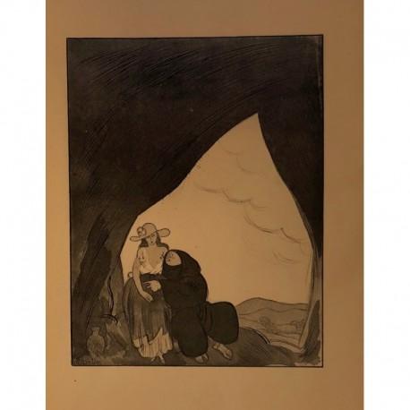 MARTIN Alphonse l'ermite et la femme