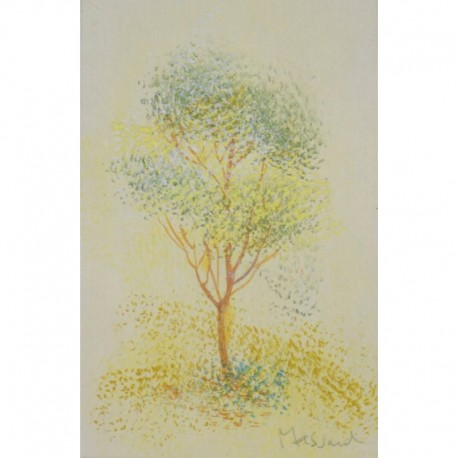 MASSARD Léo arbre au feuilles jaunes