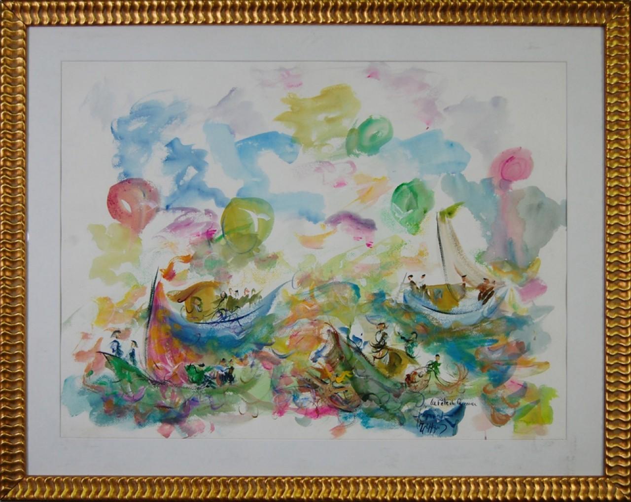 MICHAUD Hercik bateaux remplis