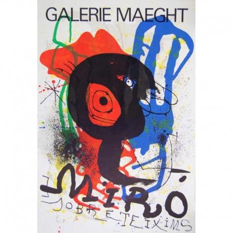 MIRÓ Joan affiche galerie Maeght