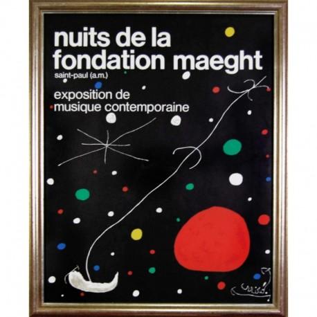 MIRÓ Joan exposition de musique contemporaine