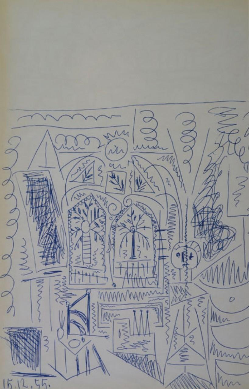 INTERIEUR EN BLEU (1955)