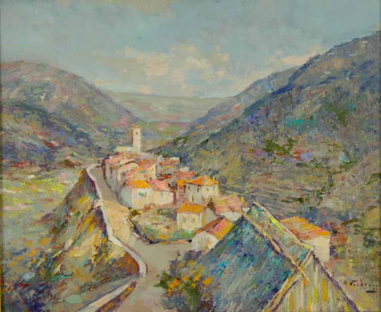 VERBRUGGHE Charles-Henri alpes maritimes montagnes venason