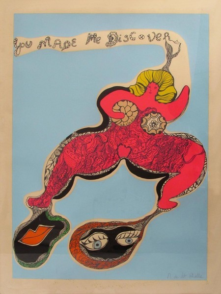 SAINT-PHALLE Niki De you made me discover femme blonde