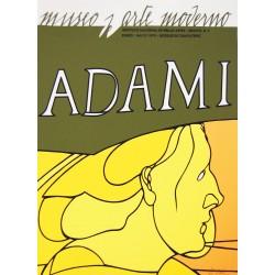 """""""HOMME"""" ADAMI Valerio (1935-)"""