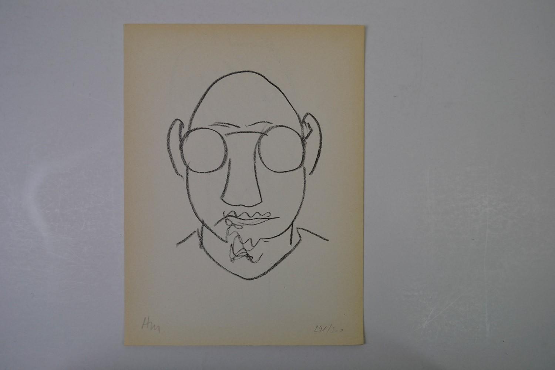MATISSE Henri Tête d'homme