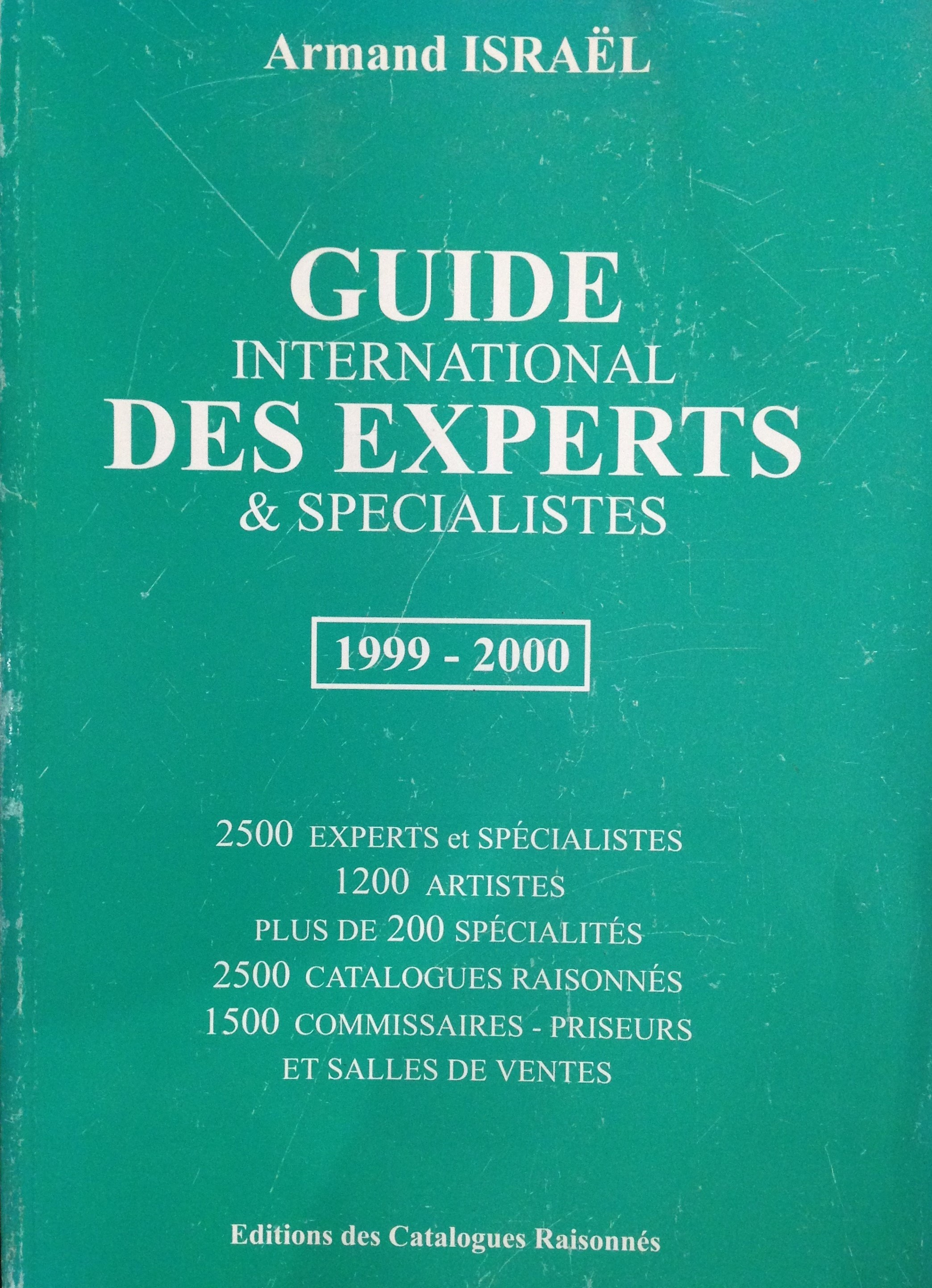Guide international des experts et spécialistes 1999-2000
