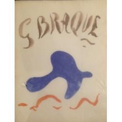 Georges Braque - œuvre graphique original - hommage de René Char