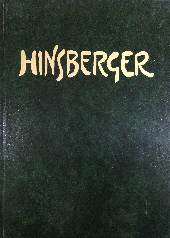 HINSBERGER ou la féerie expressionniste