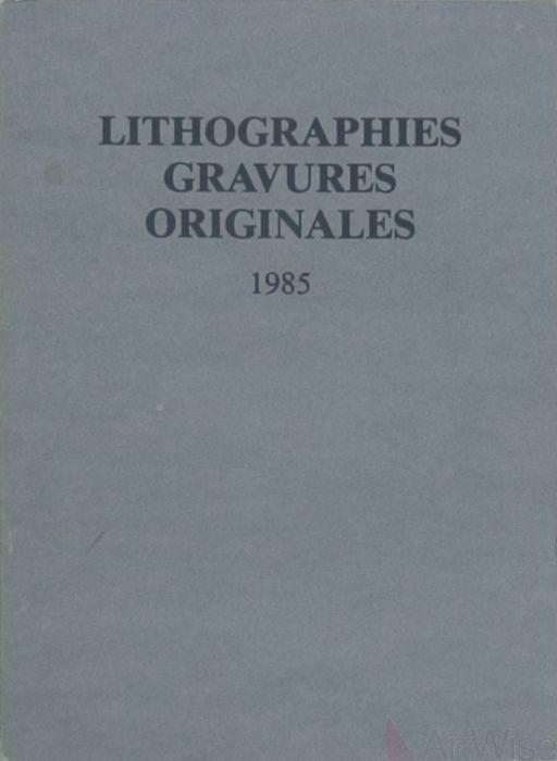 Lithographies gravures originales