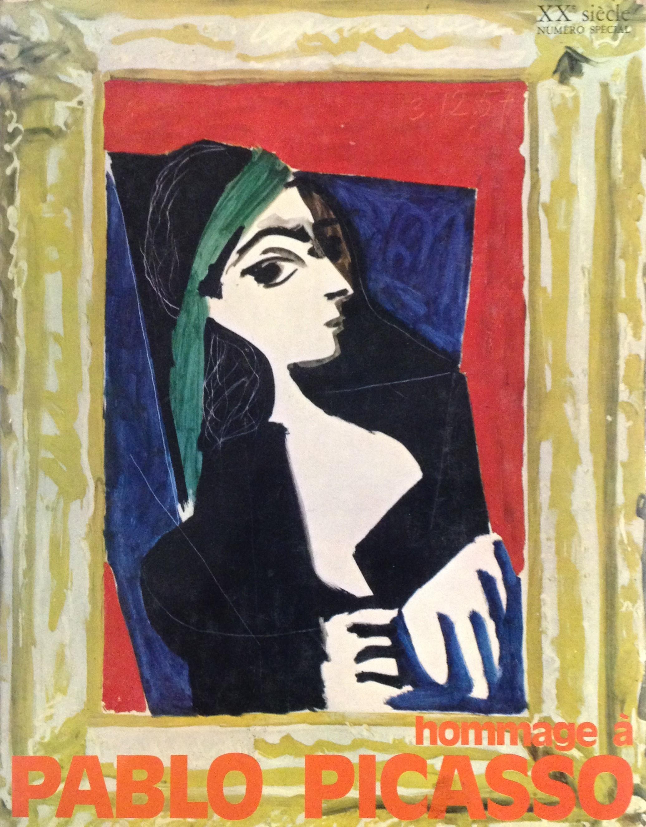 Hommage à Pablo Picasso XXème siècle