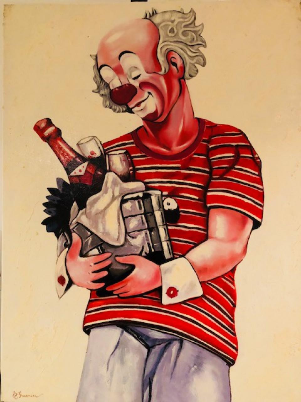 FOURNIER Jean-Baptiste clown sceau de champagne