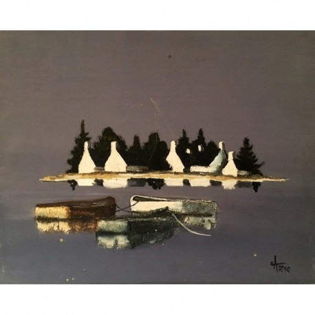 Arno ile Bretagne avec trois barques