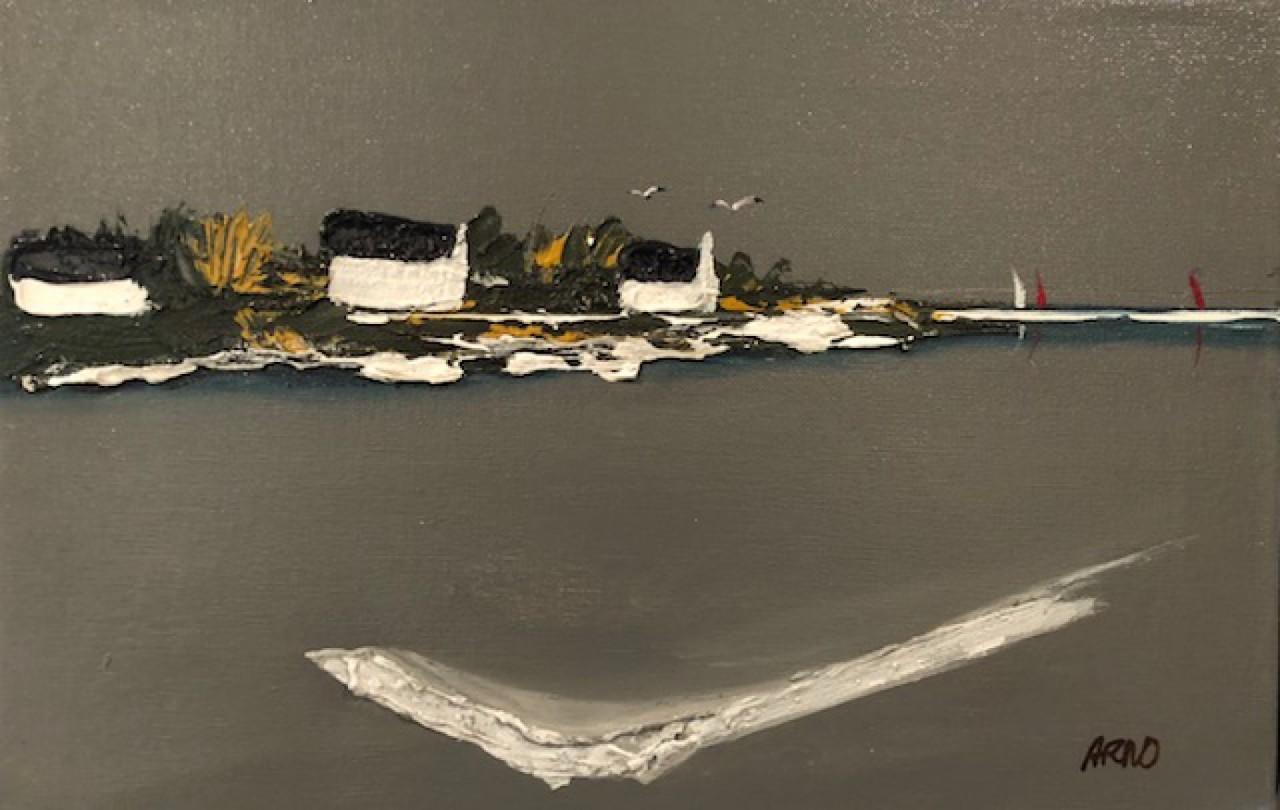 Arno maisons bretonnes en bord de mer