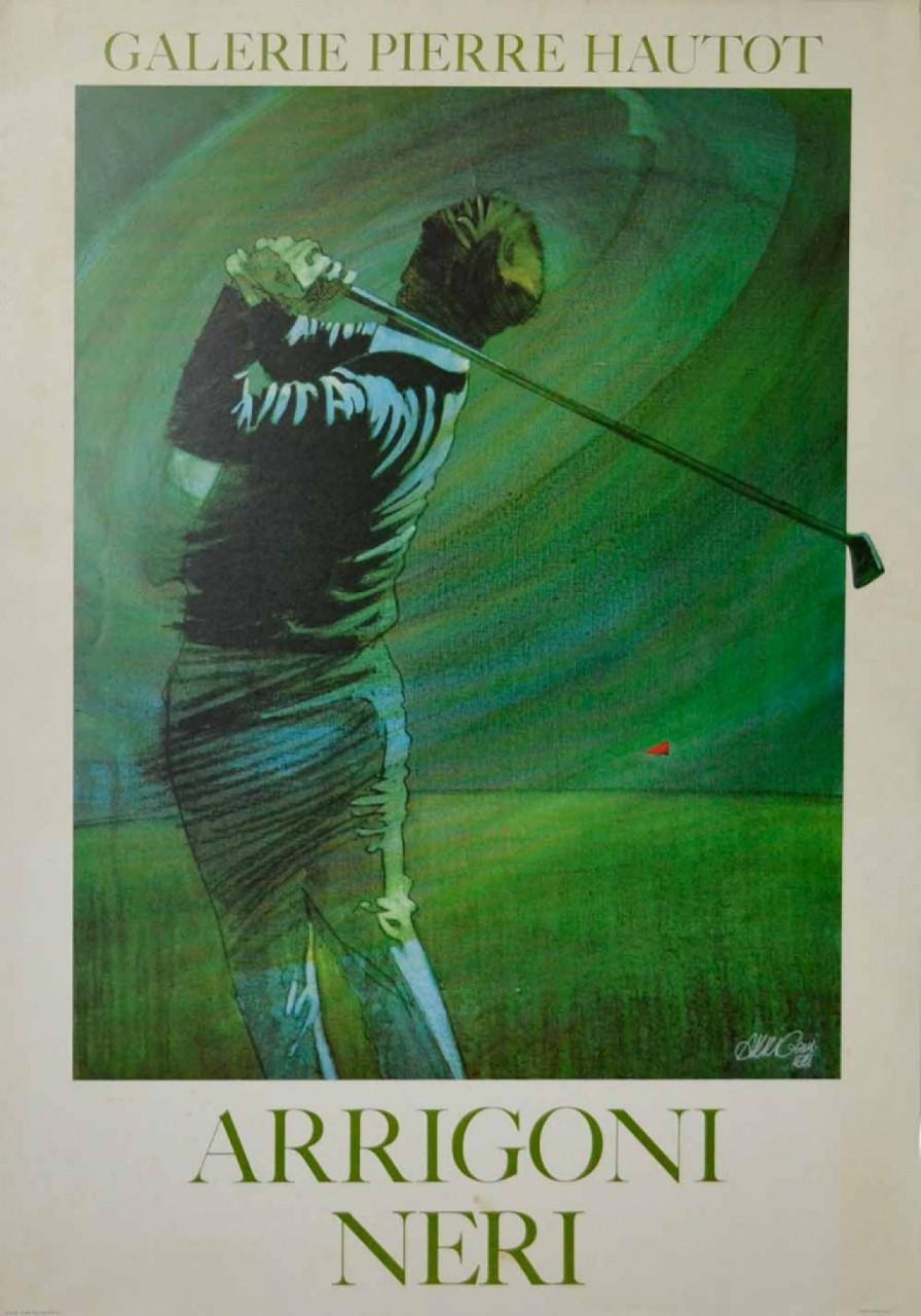 Arrigonineri golfeur vert