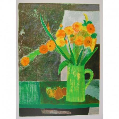Bardone Guy pot de fleurs vert