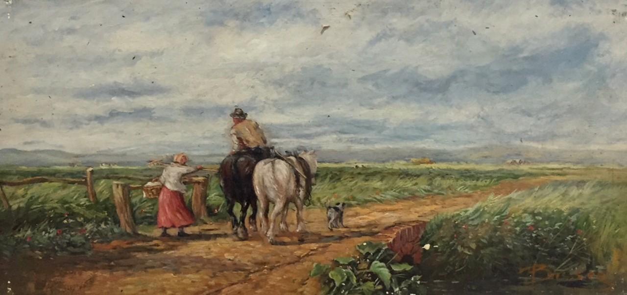 BASSEZ Walter promenade à la campagne