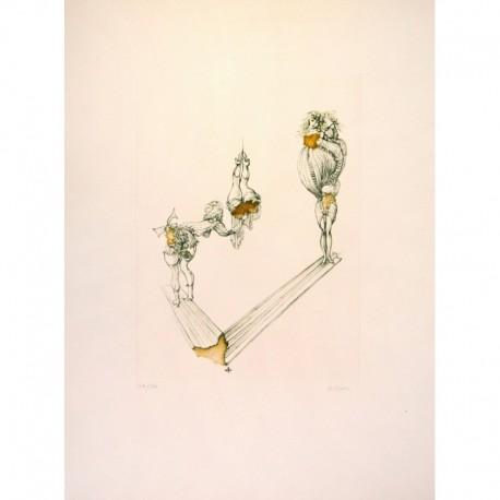 BELLMER Hans femmes acrobates