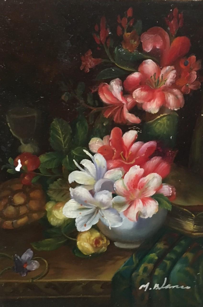 BLANC Mortimer bouquets de fleur