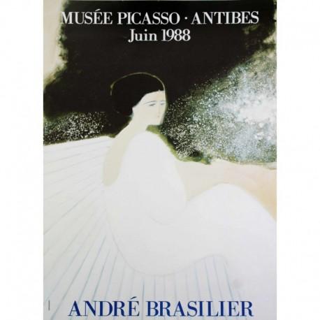 BRASILIER André femme robe branche musée picasso