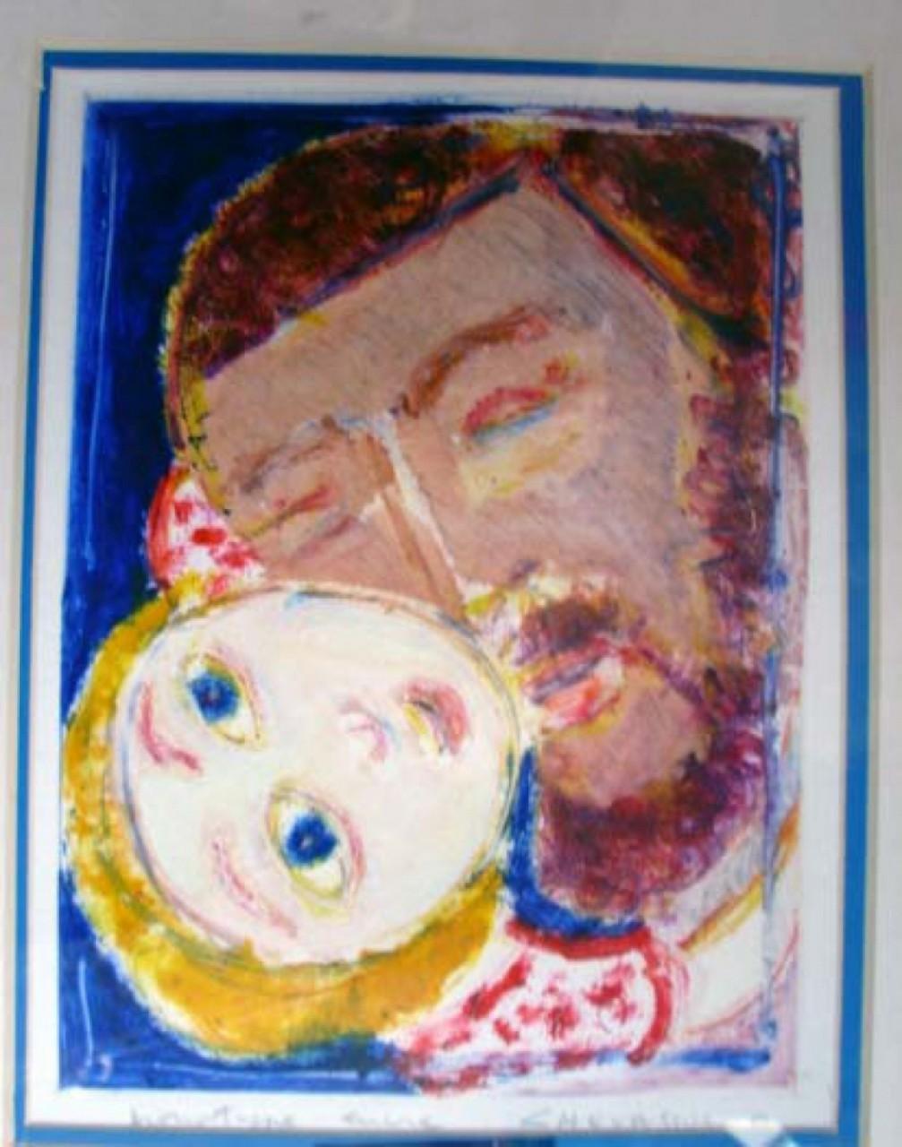 CHEVASSUS-AGNES Jean-Pierre homme et petite fille