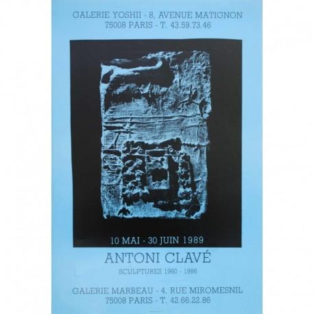 CLAVE Antoni galerie marbeau sculptures